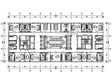 【新疆】某指挥中心大楼办公楼设计施工图(含效果图)