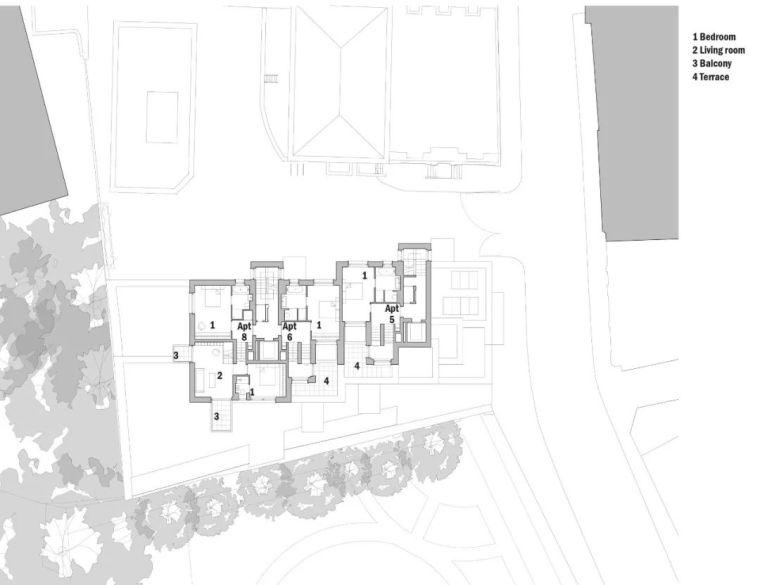 建筑师独立开发的公寓楼,真是好房子!_40