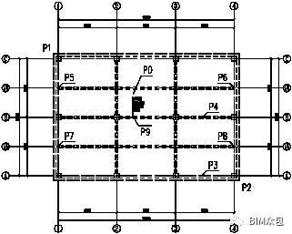 TSSD梁板平面图