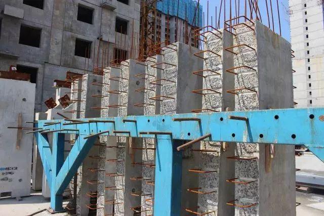 浭阳新城首栋装配式钢结构住宅工程拔地而起_11