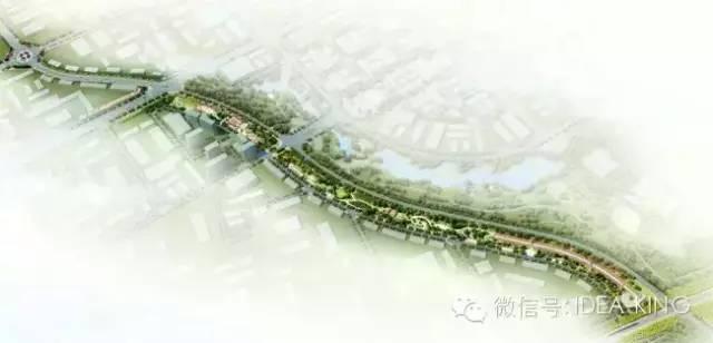 洮南市新城带状公园景观设计