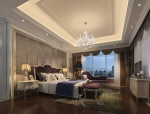 温馨欧式卧室3D模型下载