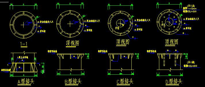 大院结构施工图节点大样(CAD版)