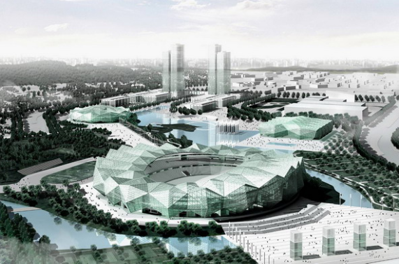 空间网格结构钢屋盖体育场施工组织设计