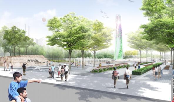 [吉林]长春中央滨水公园景观设计方案文本