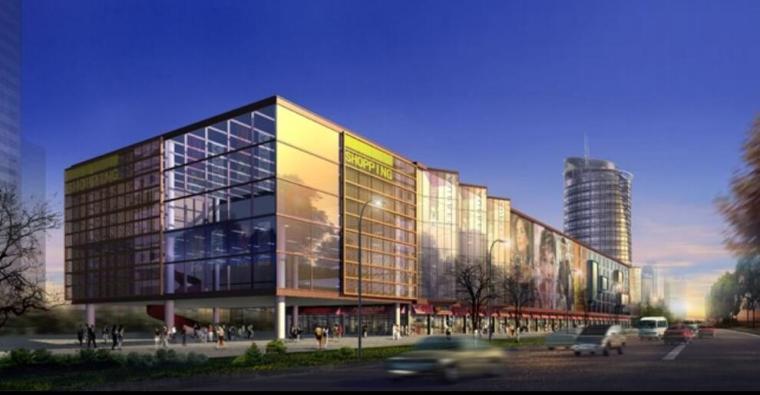 山东济南商业中心3栋建筑项目[电气施工图]