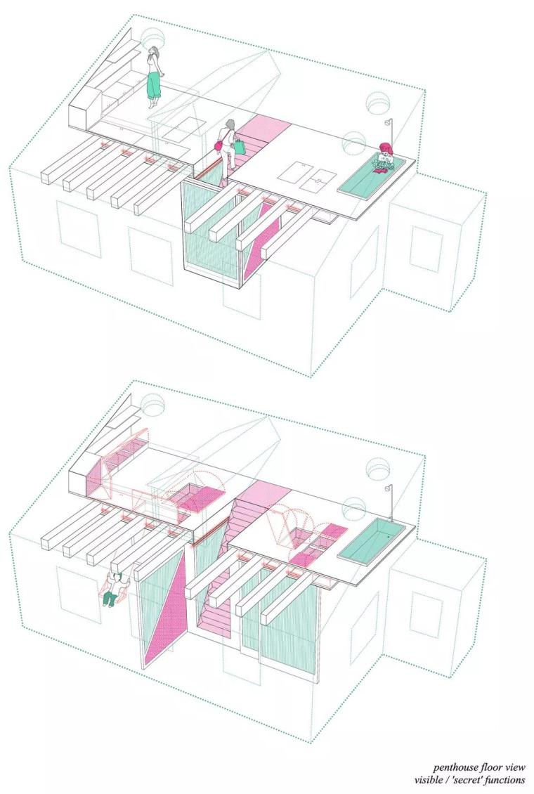 不足60㎡的小空间,如何设计能做到处处高逼格?_3