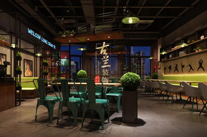 《龙少爷的干锅店设计》德令哈餐厅装修设计公司,德令哈餐厅设计-龙少爷的干锅店设计2.jpg