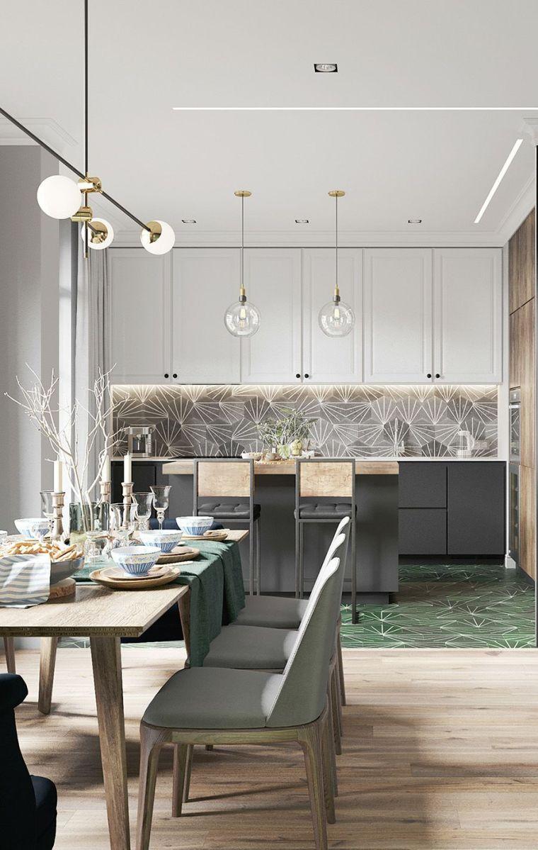 2019流行的花式厨房瓷砖,你都选对了吗?_2