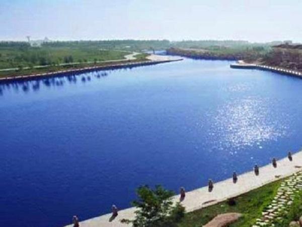 上清河流域河道治理工程施工