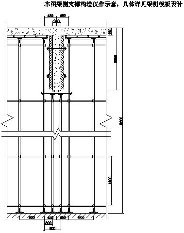 [宁波]高层住宅项目高大支模架专项施工方案(145页)含计算书图纸-20立面图