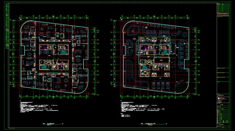 屋顶层建筑设备监控平面图
