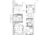 [四川]成都远大五期样板间A户型施工图