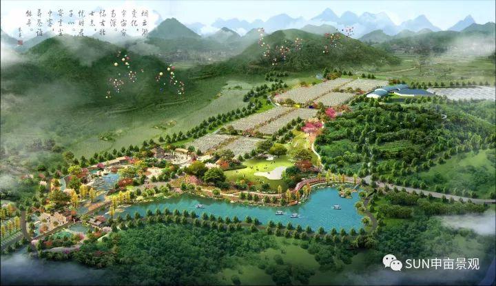 申亩景观 | 马山盛世生态园休闲农业景观设计案例