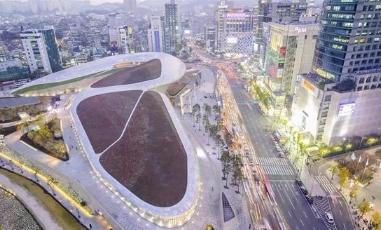 BIM案例韩国东大门设计广场——BIM如何应用于复杂设计