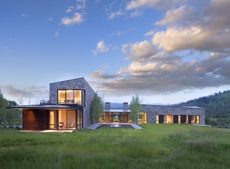 美国新月别墅