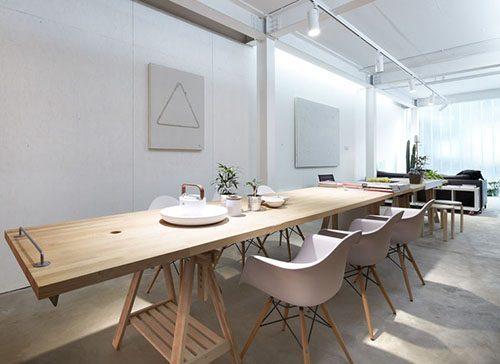 给你谈谈,北欧风格办公室装修特点