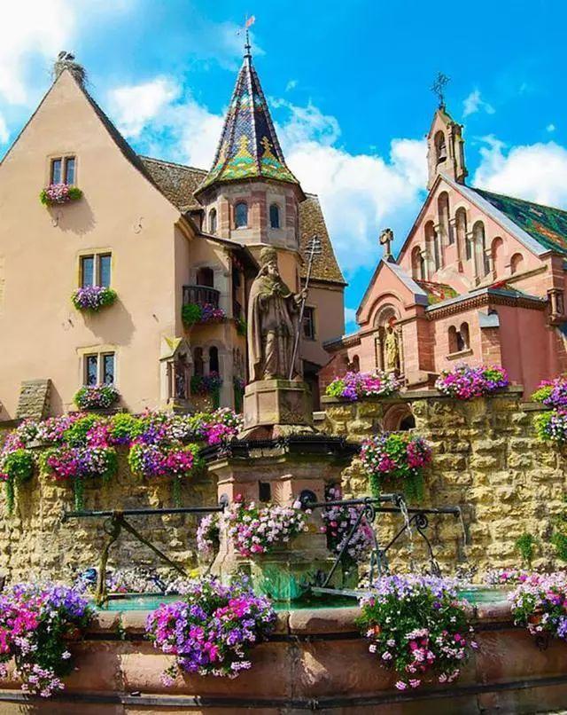 世界上最美的7个鲜花小镇子,这辈子一定要去一次!_34