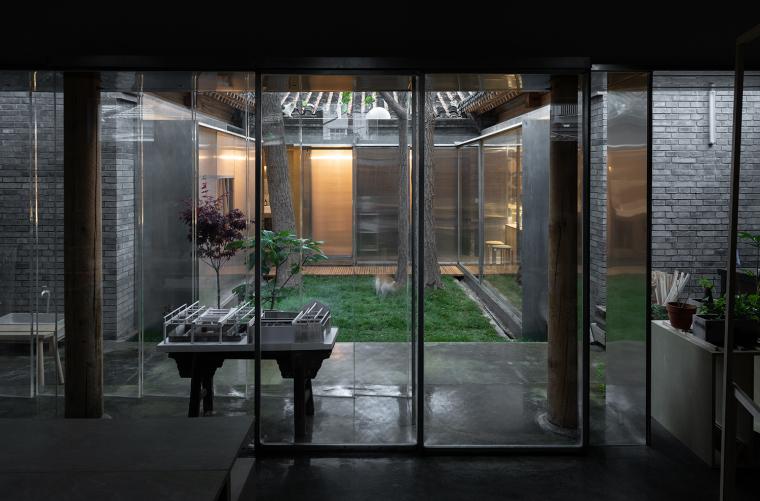 北京胡同中的工作室改造-9