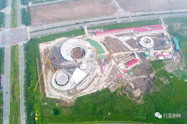 世界最大天文馆之一——上海天文馆主体钢结构工程收尾_4