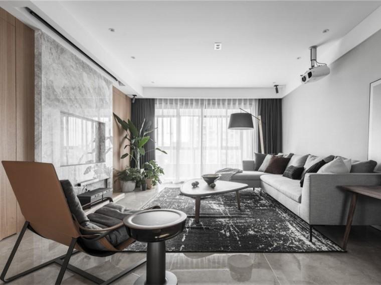143m²现代简约住宅