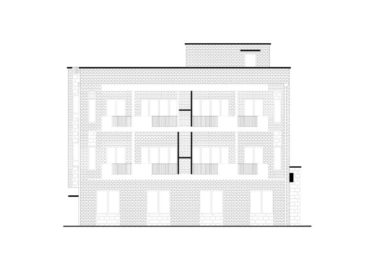 某三层客栈民宿完整CAD图纸含平立剖、节点图