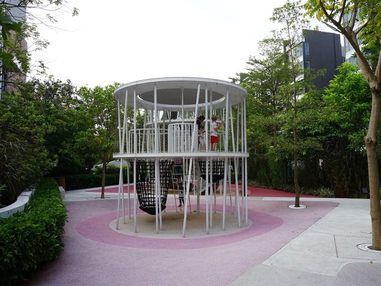 香港清水湾道的五个游乐区