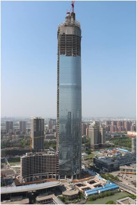 看江苏第一高楼如何进行施工现场管理?