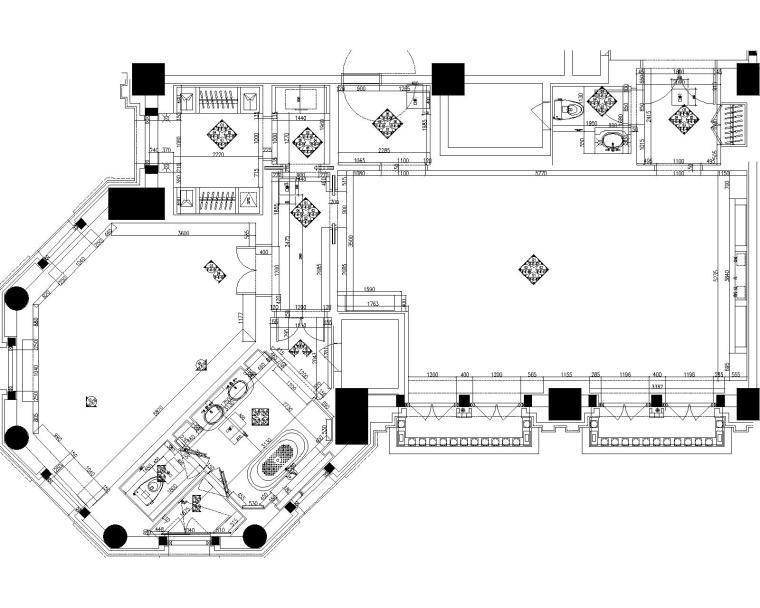 [天津]PYR-天津丽思卡尔顿酒店全套施工图+设计方案+效果图