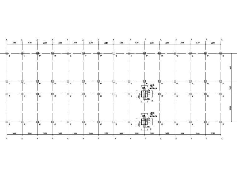 某六层高校宿舍楼框架结构设计全套图纸