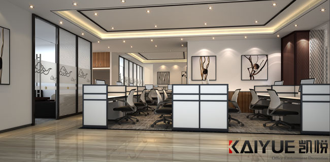 中式风格办公室装修设计-美时美刻生物科技_2