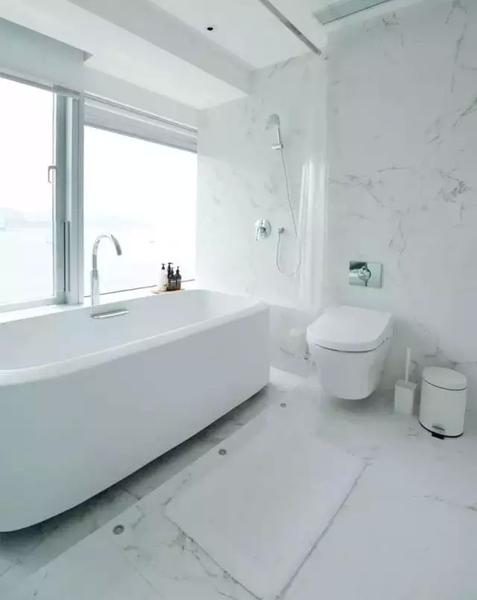 打造心中简约风格书墙,白色调现代简约风格样板间