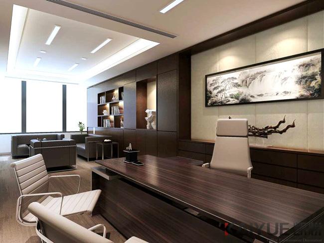 宝琳化妆品公司办公室装饰设计项目--效果图_5
