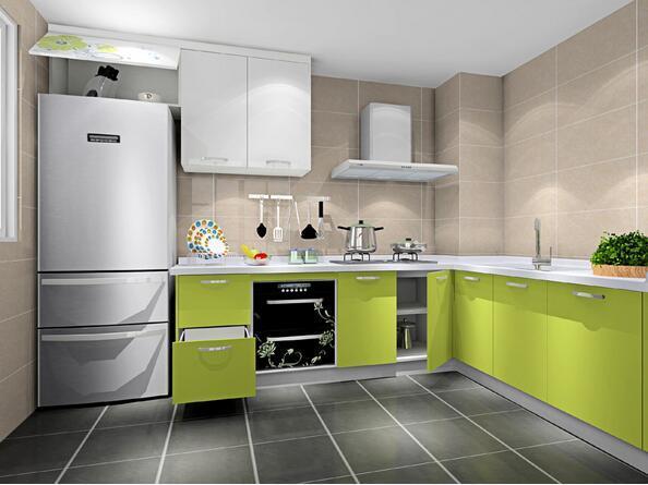 家庭厨房装修怎样选择色彩