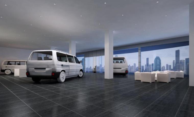 (原创)汽车4S店室内设计案例效果图-汽车4S店 (7)
