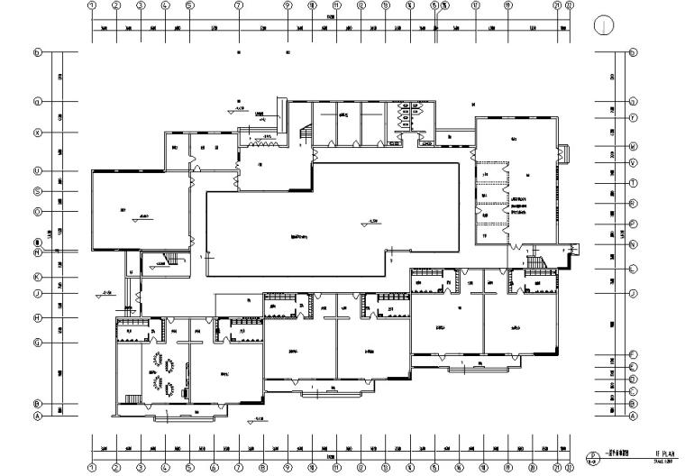 [苏州]某幼儿园室内装饰CAD施工图纸(含效果图)