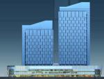 大底盘双塔复杂高层结构设计论文