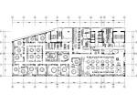 天津2000平米连锁餐饮店概念装修施工图(附效果图)