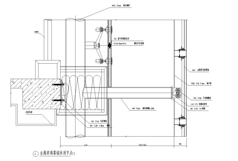 [广西]综合办公楼外装饰施工图