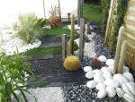 一小堆石子,美了一整个花园