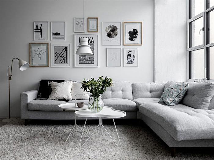 瑞典白色淡雅的住宅
