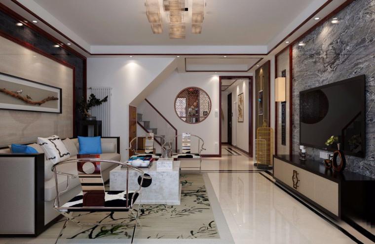中式现代混搭风格的住宅