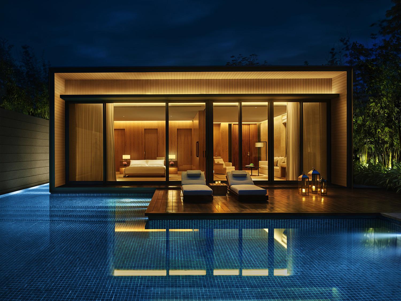 度假酒店概念方案设计图片