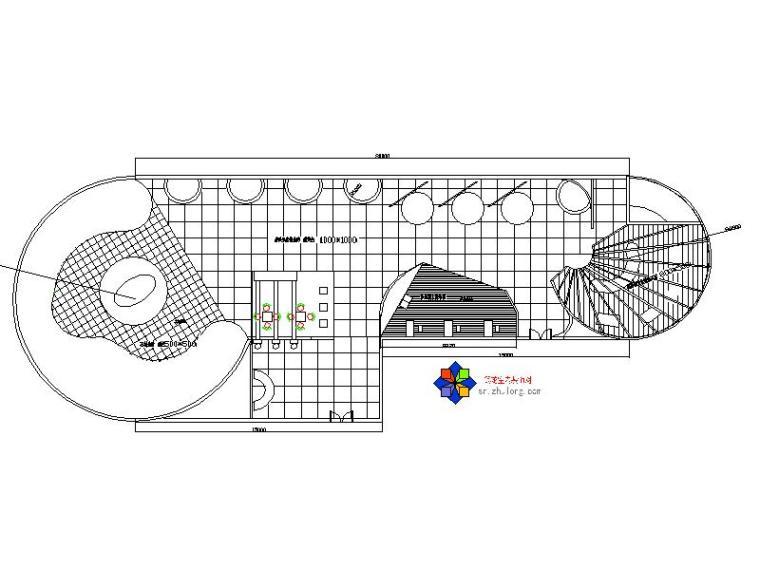 ins风格装修店面资料下载-现代风格电脑展示空间设计施工图(含效果图)