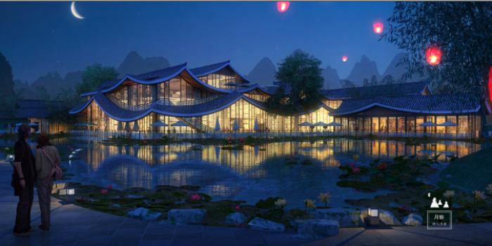 [广西]桂林风情古镇老街乡村景观设计方案(赠项目lumion动画)-效果图7
