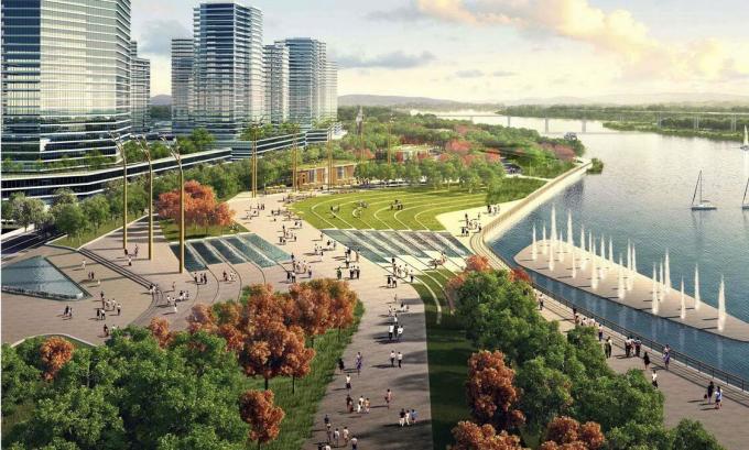 [广东]生态廊道滨河公园景观设计