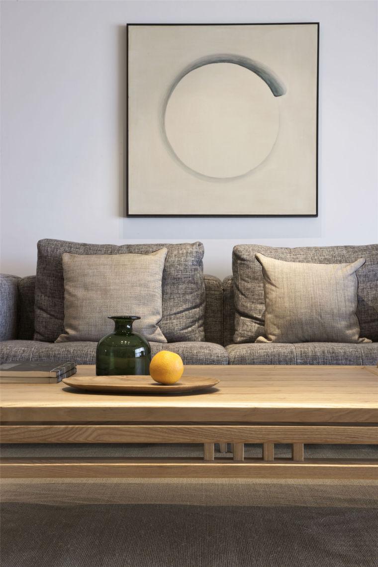 简单自然的中式风格住宅室内实景图 (3)