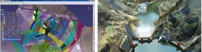 某水电站枢纽工程BIM设计与应用