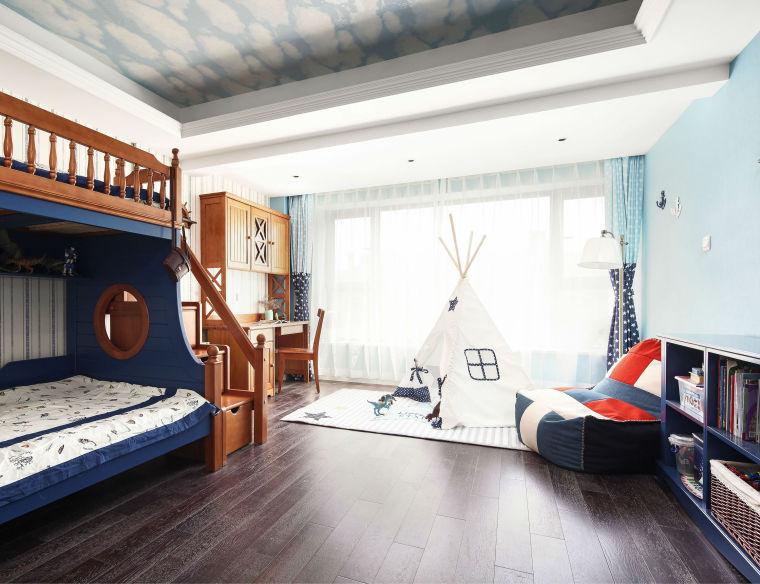 清新的美式风格住宅-12