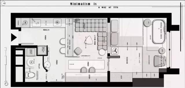 如何分辨一张优秀的室内设计平面方案图